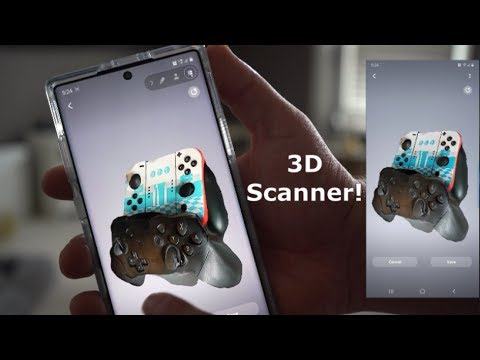 galaxy-note-10+-3d-scanner-|-first-in-depth-hands-on-look