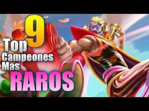 LOS 10 CAMPEONES MAS RAROS DEL LEAGUE OF LEGENDS thumbnail