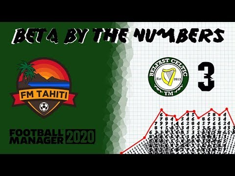 FM20 - Beta By The Numbers - EP3 Belfast Celtic - Set Pieces And Players