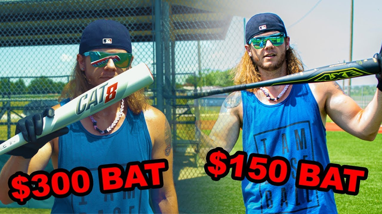 $300 CAT 8 BAT vs $150 AXE BAT CHALLENGE