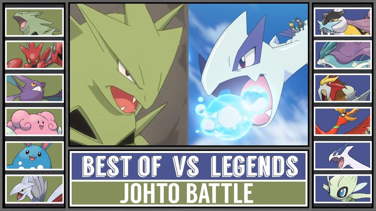 Battle of Johto | BEST POKÉMON vs LEGENDARY POKÉMON