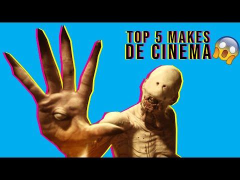 TOP 5  MAQUIAGENS DE CINEMA (GRUPO 05)