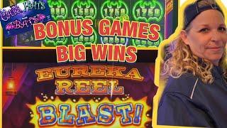 🔥💰Eureka Blast & Cats, Hats and More Bats Bonus Wins Choctaw Durant
