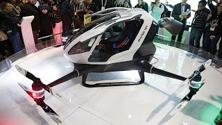 Ehang 184 : The Personal Autonomous Flying Vehicle