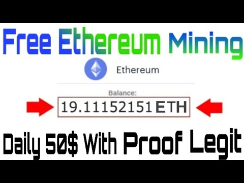 New Best Ethereum  Mining App || How To Get Earn Free Unlimited Eth With Proof 100% Legit  App