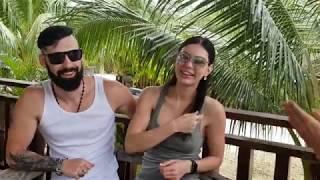 Приехали на отдых. Интервью с Евгением и Валентиной. Панглао Филиппины