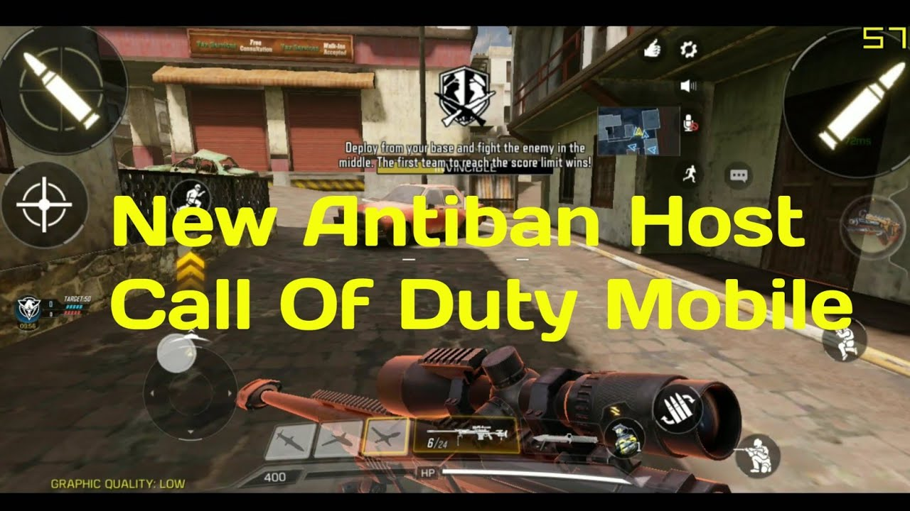 Call of duty mobile Antiban Host -