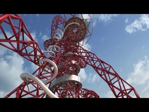 Behind the scenes at the construction of The Slide at the ArcelorMittal Orbit