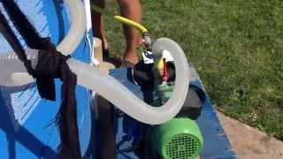 чистка бассейна Bestway при помощи самодельного фильтра(На видео очередная чистка моего бассейна на даче. В этом году воду в бассейне не разу не меняли только пару..., 2015-11-05T07:30:00.000Z)
