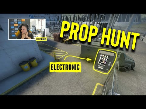 Electronic is an ABSOLUTE SNACK! - NaVi Prop Hunt on Nuke