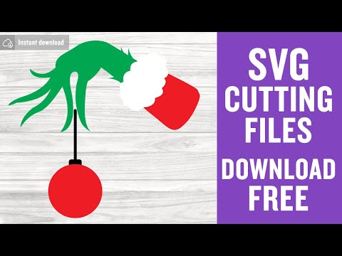 Grinch Hand Svg Free Christmas Cut Files Free Cricut Files Instant Download Silhouette Christmas Svg Vector Christmas Ball Svg Eps Dxf 0138 Freesvgplanet