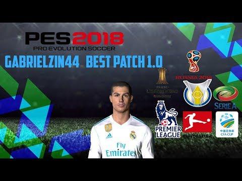 PES 2018 Gabrielzin44 Patch v1.0 [CPK]