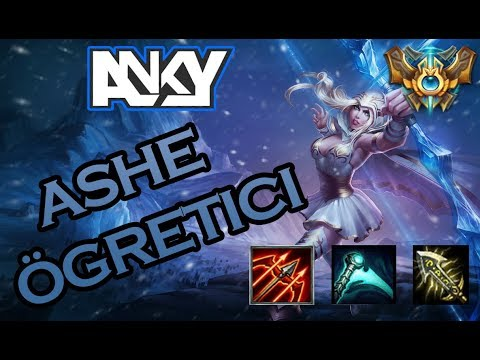 Ashe ADC ÖĞRETİCİ // LATE GAME...