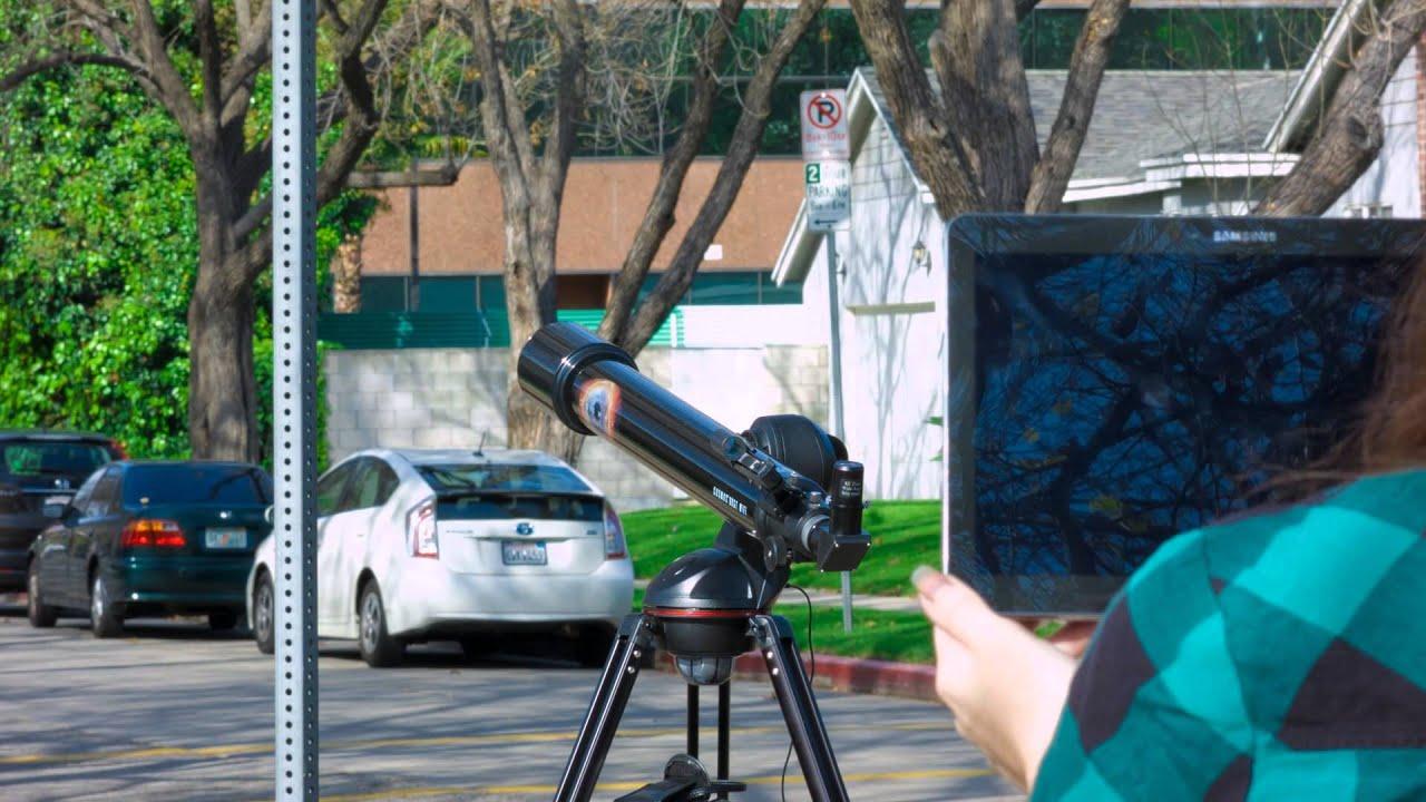 Cosmos gt wifi telescope tour youtube