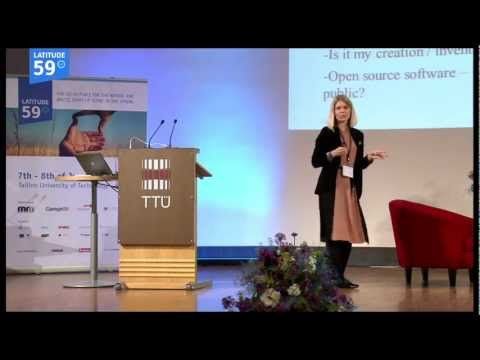 Silja Elunurm: protecting IP in the context of a startup