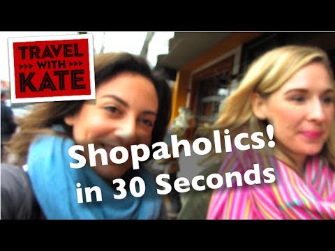 Boutique Shopping in Vancouver in 30 Seconds on Travel with Kate