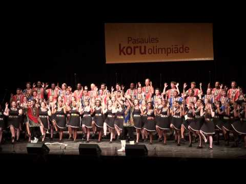 World Choir Games 2014, Riga. 10.07.2014. South Africa. University of Pretoria Chamerata