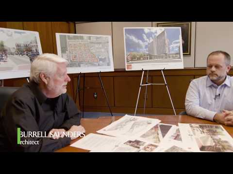Architect Burrell Saunders and Christopher Williams of Dollar Tree on Summit Pointe