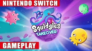 Squidgies Takeover Nintendo Switch Gameplay