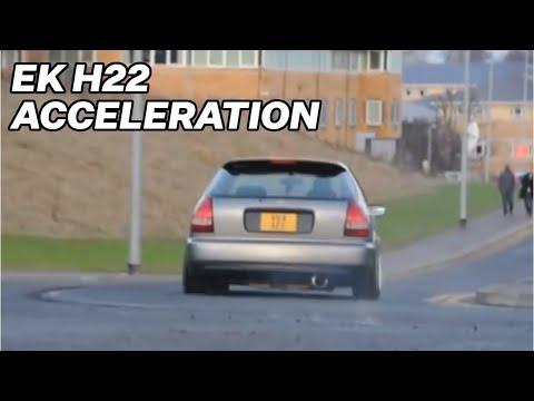 eK h22 acceleration