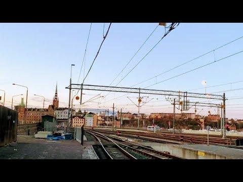 Train Ride From Stockholm To Gothenburg - Window View (Tågresa Sthlm - Göteborg)