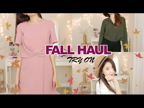 FALL TRY-ON HAUL 2016 | Uniqlo, Nordstrom,...