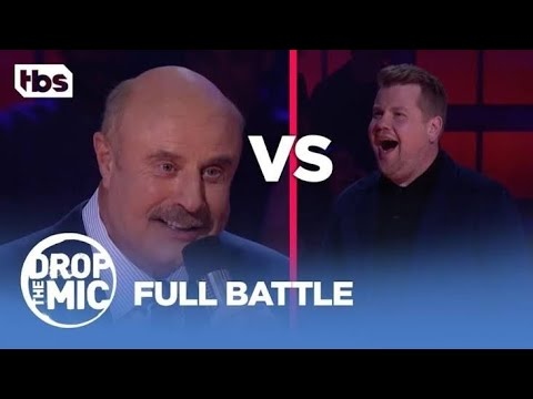 drop-the-mic-featuring-james-corden-v-dr-phil-full-battle.-*please-subscribe*