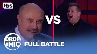 Drop the mic featuring James Corden v Dr Phil full battle.
