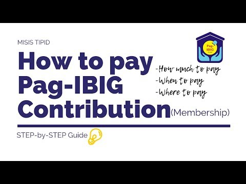 How To Pay PagIBIG Membership Contribution As A Voluntary Member