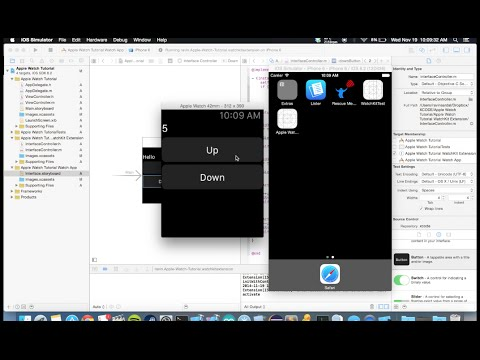 Make Your First Apple Watch App in 11 minutes - Tutorial [WatchKit SDK]