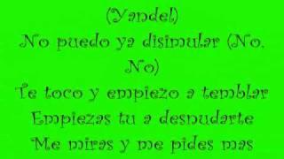 Wisin y Yandel - Te Siento Lyrics