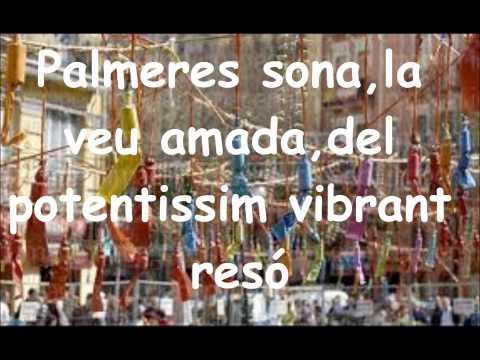 himno de la comunidad valenciana con letra