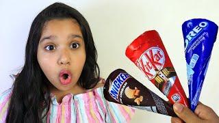 شفا و الايسكريمات الشهية Chocolate Ice Cream