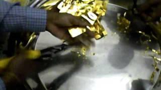 making of swarn bhasma(ayurved)