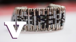 How To Make Your Own Beaded Safety Pin Bracelet: Fix Up Look Sharp - S01E5/8