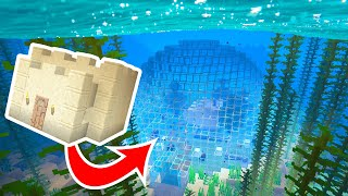 Here's the BEST Way to Build Underwater in Minecraft