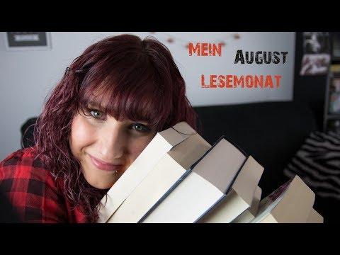 Meine gelesenen Bücher im August