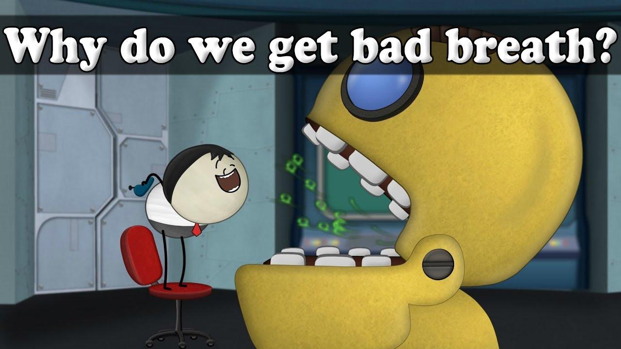 Why do we get bad breath? | #aumsum #kids #science # ...