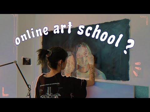 what a week of online art school looks like! 🥀