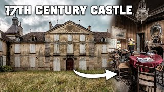 Incredible Abandoned 17th Century Castle In France   FULL OF HISTORICAL TREASURES!
