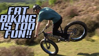 FAT BIKING IS THE BEST.... EDDIE MASTERS SECRET IS OUT!!