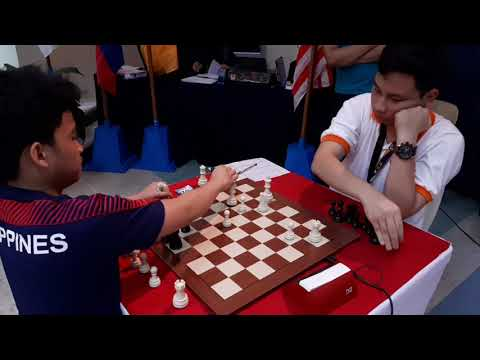 Eastern Asia Juniors Blitz Chess FM Daniel Hermawan Lumban (INA)-IM Daniel Quizon