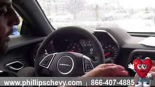 Phillips Chevrolet - 2018 Chevy Camaro ZL1 - Center Information Screen - Chicago New Car Dealership
