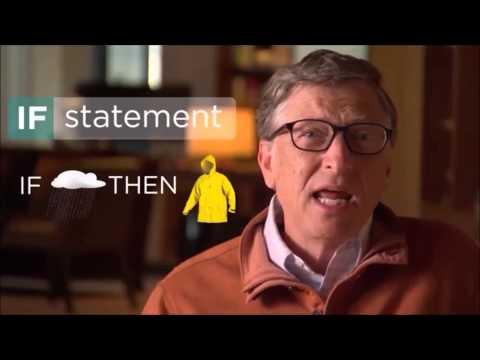 Bill Gates Explains If Statements
