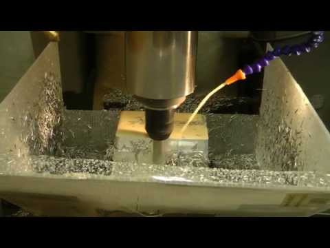 CNC Machining of camera case front - part 1