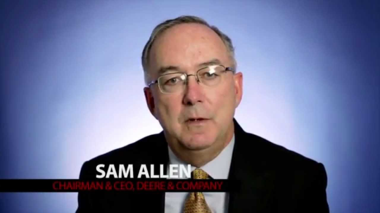deere company president and ceo sam allen it s time to act