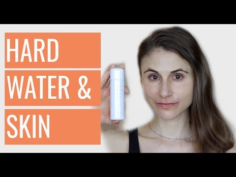 HARD WATER AND YOUR SKIN: HOW TO DEAL WITH IT? DR DRAY
