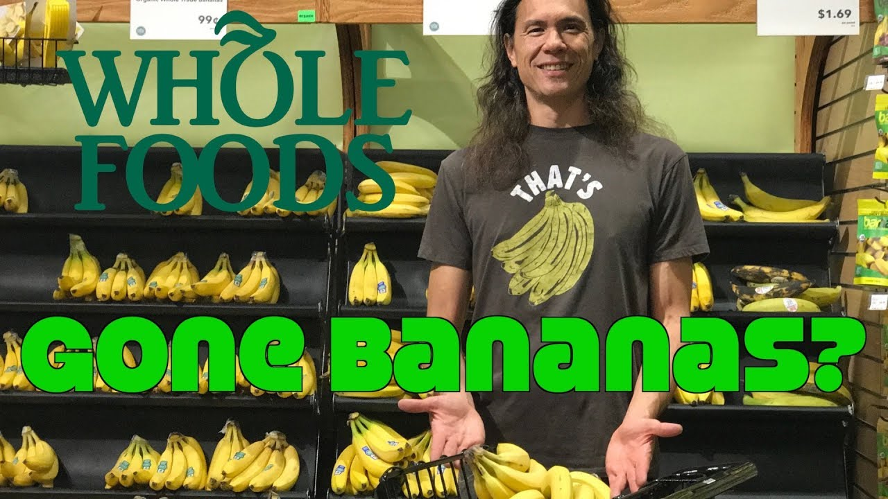 Going Bananas? Whole Foods Cuts Banana Price by 38%