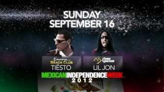 Tiesto, Avicii, Diplo, Aoki - Mexican Independence Lineup 2012