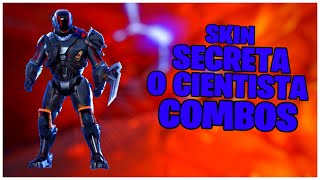 SHOWING THE * NEW * SKIN SECRET THE SCIENTIST & COMBOS | FORTNITE